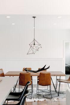 west elm - Monochrome Industrial Home In Utah