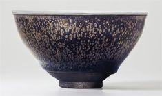 The Kuroda Family Yuteki Tenmoku. A highly important and very rare 'oil spot' Jian tea bowl, Southern Song dynasty (1127-1279)
