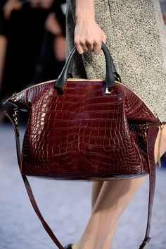 See the complete Chloé Fall 2013 Ready-to-Wear collection.