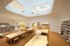 近未来的な… : 帰りたくないかも…∑(゚Д゚居心地が良すぎる図書館『武蔵野プレイス』が素敵 - NAVER まとめ