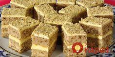 Sweet Desserts, Sweet Recipes, Delicious Desserts, Yummy Food, Torte Recepti, Kolaci I Torte, Czech Recipes, Russian Recipes, Baking Recipes