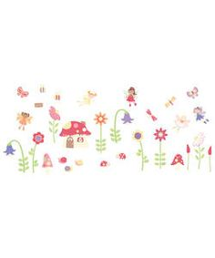 FunToSee Enchanted Garden Room Decor Kit.