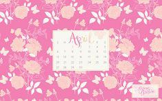 free download! april desktop & iphone calendar