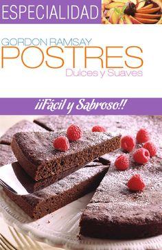 Un libro de recetas de postres dulces. Hecho con fines académicos.