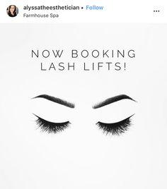 Eyelash Lift And Tint, Eyelash Tinting, Lifting Quotes, Eye Makeup, Lash Lounge, Lash Quotes, Brow Lift, Lashes Logo, Spa