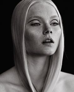Photographed by Henrik Adamsen Makeup by Liv Worm Jensen Hair by Line Bille Model: Lisa Emilie @ UNIQUE MODELS
