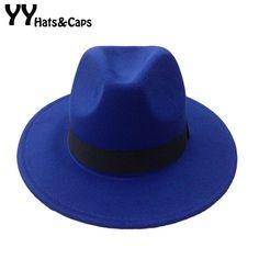 faaa07e7a6a36 Comprar Hombres de fieltro lana Snap sombrero de ala ancha