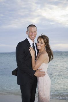 Pin for Later: The Bachelorette Couples: Where Are They Now? Ashley Hebert and J.P. Rosenbaum: Then Ashley accepted J.P.'s proposal at the finale.