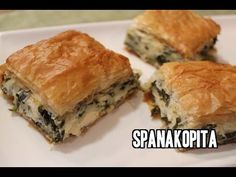 Spanakopita Recipe {Greek Spinach Pie | Spanakopita Recipe ...