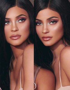 Kylie jenner makeup – Hair and beauty tips, tricks and tutorials Kylie Jenner Outfits, Mode Kylie Jenner, Kylie Jenner Fotos, Kyle Jenner, Kardashian Jenner, Kardashian Kollection, Estilo Jenner, Kajal, Kylie Jenner Makeup