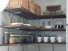 reclaimed wood in open kitchens - Google Search