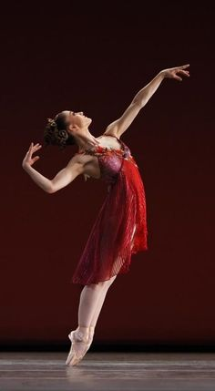 "Ashley Bouder in ""The Four Seasons"" (New York City Ballet)."