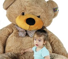 "Amazon.com: Joyfay 78"" Giant Teddy Bear: Toys & Games"
