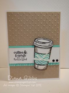 Perfect Blend full coastal. From Diana Gibbs. http://dianagibbs.typepad.com/stampin_with_di/2013/10/the-heat-is-on.html