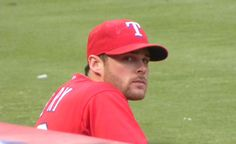 Craig Gentry of the Texas Rangers.