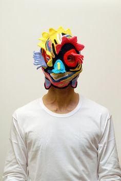 o avesso da moda: artista em máscaras de lã: Aldo Lanzini em entrevista exclusiva
