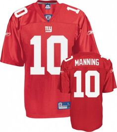 New York Giants  10 Eli Manning Red Jersey Nfl Jerseys 4ba328fc9