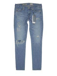 AG The Legging Ankle - White (Super Skinny). Ag Jeans, Adriano Goldschmied, Super Skinny Jeans, Ankle, Boutique, Denim, Digital, Cotton, Pants