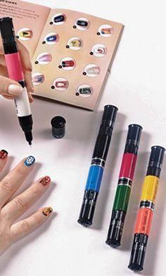 DIY finger nails    I want this