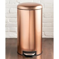 310718-Kitchen-Quarter-30-Litre-Copper-Pedal-Bin1