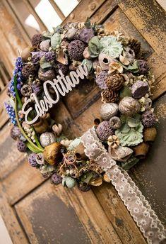 Advent Wreath, Grapevine Wreath, Christmas Wreaths, Christmas Decorations, Holiday Decor, Wreath Tutorial, Autumn, Fall, String Art