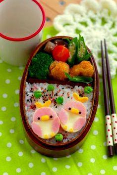 Lunch birdie - ◆ lunch * Character valve & Dekosu~itsu today ◆