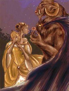 pohádka: Kráska a zvíře