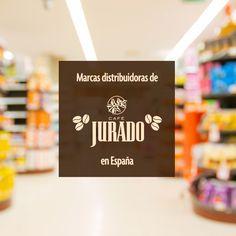 Mercadona, Consum, Alcampo, Carrefour España, Makro España, Eroski y El Corte Inglés, entre otras grandes superficies confían en Café Jurado desde hace décadas ;-)