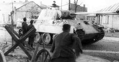 Panther of 5 Waffen SS Panzer Division Wiking,Kowel 1944