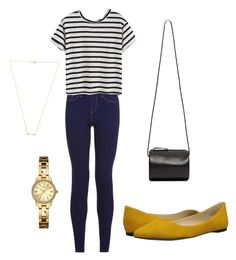 """""""Untitled #15"""" by justine-frial on Polyvore featuring Building Block, Nine West, GUESS, Wanderlust + Co, women's clothing, women, female, woman, misses and juniors"""