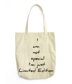Limited edition -Tote