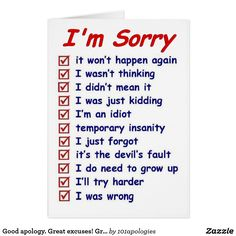 Create your own unique greeting on a Apology card from Zazzle. From birthday, thank you, or funny cards, discover endless possibilities for the perfect card! Letters To Boyfriend, Cards For Boyfriend, Boyfriend Gifts, Im Sorry Gifts, Im Sorry Cards, Apology Quotes For Him, Forgiveness Quotes, Diy Birthday Gifts For Friends, Im Sorry Quotes