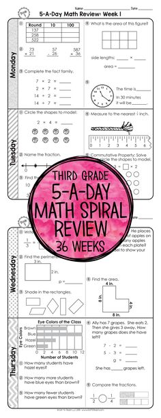 Envision math grade 4 worksheets workbook pages com second education 3rd Grade Classroom, Third Grade Math, Math Classroom, Grade 3, 3rd Grade Homework, Spiral Math, Envision Math, Teaching Math, Maths
