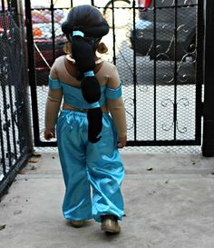 First Time Mom and Losing It: Happy Halloween: Princess Jasmine