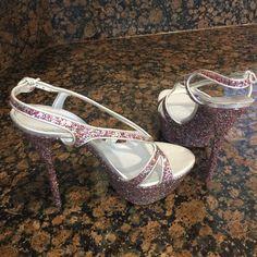 Casadei Multicolor Glitters Stilettos Heels Platforms Size US 9.5 Regular (M, B) - Tradesy