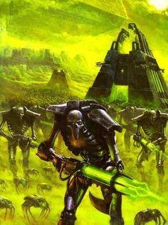 Forces of the Necron (The Necron Warriors) by kokoda39 on DeviantArt