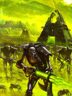 Forces of the Necron (The Necron Warriors) by kokoda39 on DeviantArt