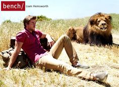 Liam Hemsworth And Lions