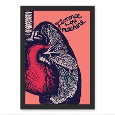 Poster Florence + the Machine - AntiMonotonia Store