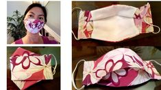 Sewing Tutorials, Sewing Projects, Sewing Patterns, Diy Mask, Diy Face Mask, Vlog Youtube, Sewing Basics, Sewing Techniques, Hair Bows