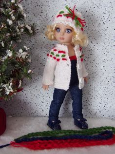 Handmade clothes set made for Tonner Patsy Dolls