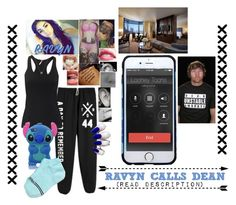 """Ravyn Calls Dean"" by raine-wwe ❤ liked on Polyvore featuring Samsung, Roberto Coin, living room and bedroom"