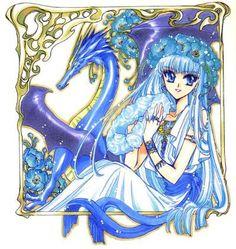 Umi Ryuuzaki (龍咲海)   Magic Knight Rayearth (魔法騎士(マジックナイト)レイアース), Mahou Kishi Rayearth, MKR   CLAMP