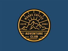 Adventure Club Hat Patch by Andrew Berkemeyer
