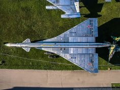 Russia's Central Air Force Museum: Stunning Birds-Eye Photographs of Monino Airport