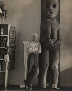 Max Ernst (photograph by Herman Landshoff) 1940