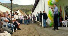 www.bersoahoy.com   Obras de progreso comunitario entregó el gobernador de Santander en Guaca.
