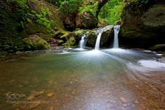 Schiessentumpel - Pinned by Mak Khalaf Waterfall Schiessentumpel in Mullerthal Luxembourg. Nature LELuxembourgSchiessentumpelbeautifulcascadeforestgreenlandscapelong exposureluxemburgmullerthalnaturerivertravelwaterwaterfallwatervall mullerthal by RobChristiaans