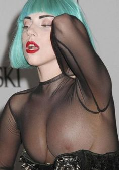 Lady Gaga #ladygaga #lady #celebrity #boobs #slip
