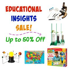 Educational Insights Sale – Up to 50% Off!
